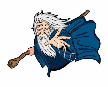 magician wizard oldman