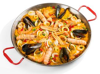 Spanish traditional paella