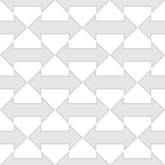 seamless geometric arrow pattern