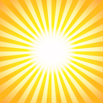 Shiny summer lights, starburst & sunburst background