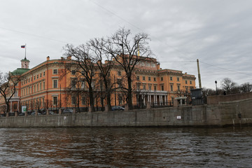 Street views of Saint Petersburg.