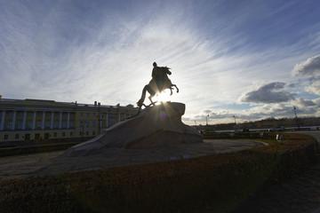 Street views of Saint Petersburg.