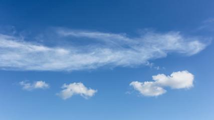 Beauty sky with cloud