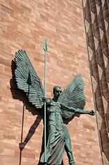 St Michael with a spear, Coventry.