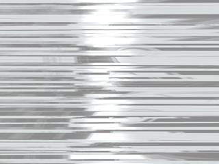 Background metal chrome strips.