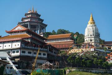 Buddhist temple Kek Lok Si in Penang, Malaysia, Georgetown