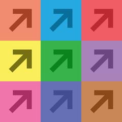 illustration of busines icon