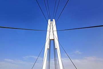 Pylon cable-stayed bridge