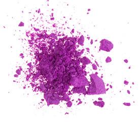 Colored powder.