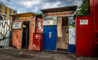 Fotobox an der Warschauer Strasse in Berlin
