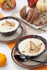 Roasted Parsnip and Pear Soup