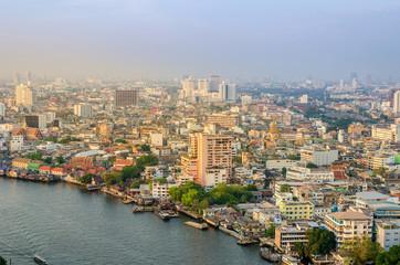 Cityscape of bangkok city