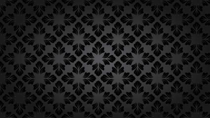 Ornament Leaf Pattern Background