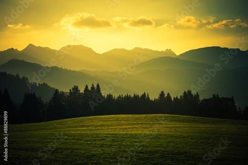Wall mural Scenic Mountain Landscape