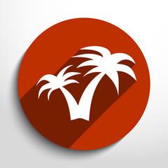 Vector travel icon