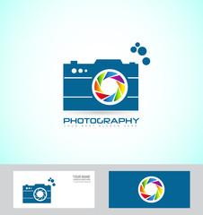 Photography camera logo