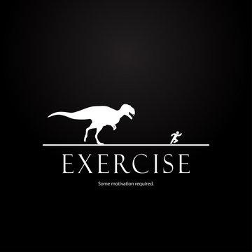 Motivation template - dinosaurs design