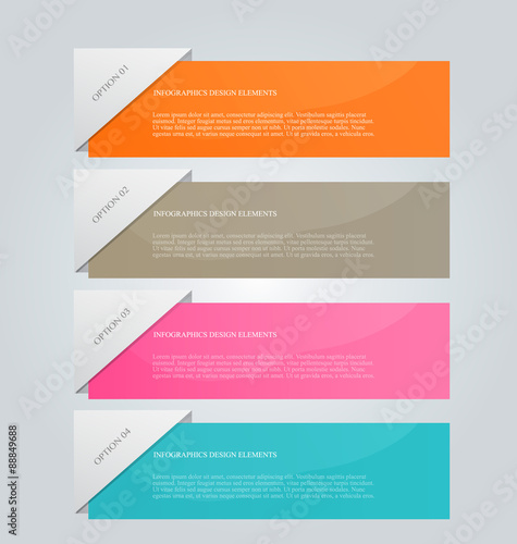 business infographics template for presentation education web