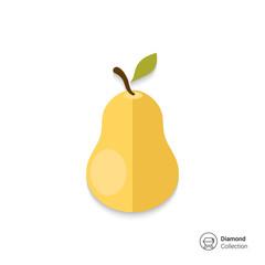Ripe pear icon