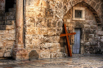 Old Church in Jerusalem, Israel