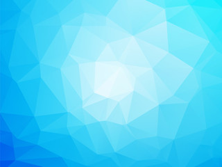 Modern blue and white background