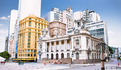 Rio de Janeiro City Hall, Brazil. Wall mural