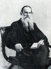 Leo Tolstoy, russian writer (Ilya Repin, 1887)