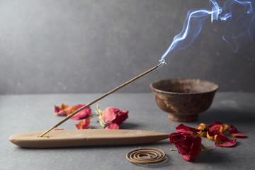 Incense stick. Aromatherapy