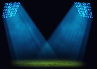 green stadium,Sports background .