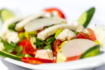 Gemischter, bunter Salat