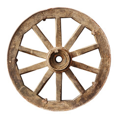 Wooden cartwheel