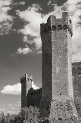 La fortezza di Montalcino 1381, Siena, Toscana