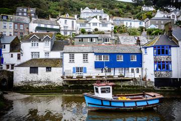 Polperro Cornwall England