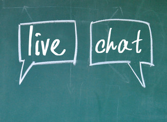 live chat sign on blackboard