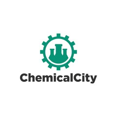 Chemical Lab Logo Template