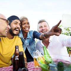 Diversity Friends Selfie Photo Togetherness Concept