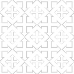 seamless geometric four sides arrow pattern