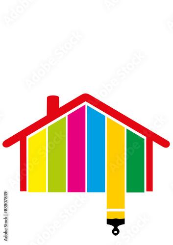 mise en peinture fichier vectoriel libre de droits sur la banque d 39 images image. Black Bedroom Furniture Sets. Home Design Ideas