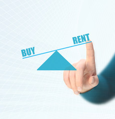 balance between rent and buy