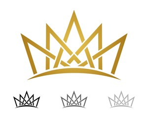 Gold Crown Logo Template v.3