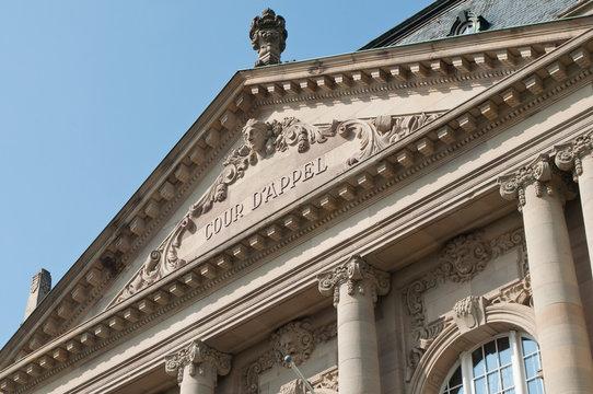 cour d'appel de Colmar - Alsace - France