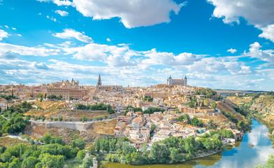 Toledo cityscape. Toledo is capital of province of Toledo (70 km
