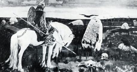 The Knight at the Crossroads (Viktor Vasnetsov, 1878)