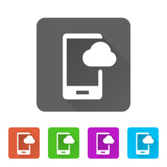 App Icon Long Shadow - 5 Colors