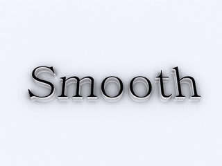 smooth / lettering