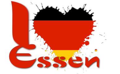 I love Essen