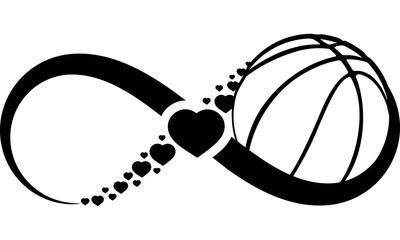 basketball-heart-infinity