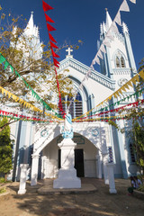 Immaculate Conception Cathedral during Chritmas time