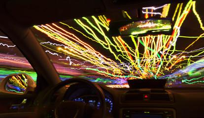 City motion light Lines