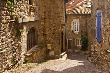 Gasse in Olargues 4